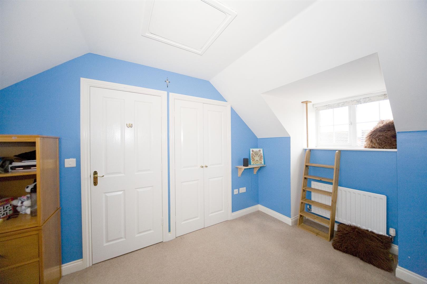 Bedroom two (top floor)